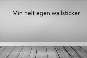lav selv wallsticker